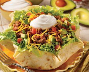 Today's Special: Beef Taco Salad