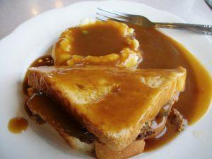 Hot Meatloaf Sandwich