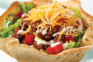 Beef Taco Salad: Thursday, Friday, & Saturday 11/5- 11/7