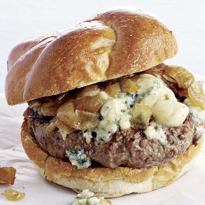 "Burger Special: Wednesday, 1/13  ""Singin' the Blues Burger"""