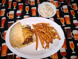 BBQ Beef Sandwich Platter