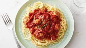 Spaghetti & Sweet or Hot Sausage